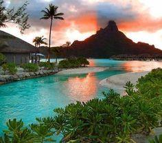 Bora Bora ...sigh...wish I was there