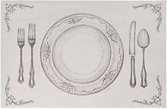 Place Setting Placemats