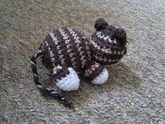 Stripy Cat (Free pattern)   Amiguruthi