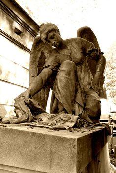 Pere Lachaise Cemetery, Paris - France