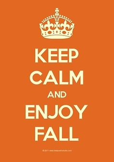 Keep Calm and Enjoy #Fall, #autumn  #SmittenScrubs @Gina Rau Scrubs #nurse #nursing #healthcare #studentnurse #registerednurse #LPN #CNA #fashion #rocknroll #rockstar #trend #style