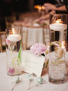 wedding tables decoration, romantic wedding decoration, floating candles, simple centerpieces, romantic weddings, tabl decor, candles table decoration, eleg romant, wedding table decorations