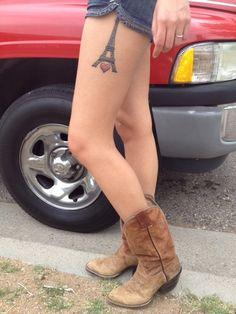 Eiffel tower tattoo <3