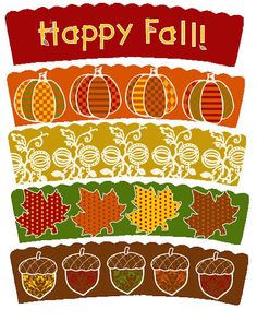 Fall is in the air!  Cupcake Wrappers for the occasion!