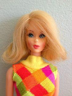 "Vintage MOD Barbie Twist n Turn #1160 ""Marlo Flip in Swimsuit"