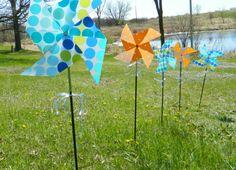 Fun Pinwheels to make with placemat@!