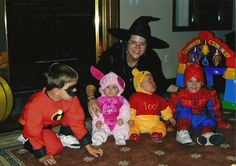 Author #MiraLynKelly talks #Halloween!  Q: Tell me about the photo. A: Here's a snap from 2005, our first Halloween with a full Kelly crew! FYI, I go as a witch EVERY year...LOVE that black hat!!  Q: What's your favorite paranormal romance? A:My favorite paranormal reads are the IMMORTALS AFTER DARK series by Kresley Cole with an extra special favorite spot for MACRIEVE :-)