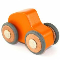 Tegu Magnetic Car - Maddy Micro. Four smooth-rolling rubber wheels easily detach and re-attach. Great take-along toy! $19.95