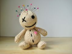 Ravelry: Voodoo Doll pattern by Amanda Berry  I need to make at least 20.....