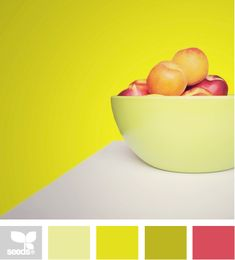 Produced yellow. #color #palette #colorpalette #colorscheme #paint #design