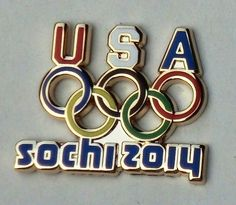 Sochi Winter Olympics 2014 Team USA Pin