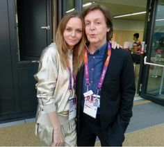 Sir Paul and Stella McCartney at the Olympic Games Vogue Daily