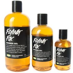 one of my all time favorite smells, this shower gel. / Flying Fox - Lush