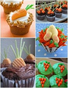 Easter Carrot Themed Food & Crafts