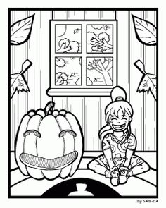 Free Coloring Page!