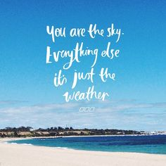 YOU are the SKY!