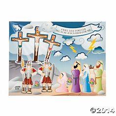 Crucifixion Sticker Scenes (5.00 for 12)