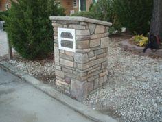 #custom #stone #mailbox #design custom stone, stone mailbox