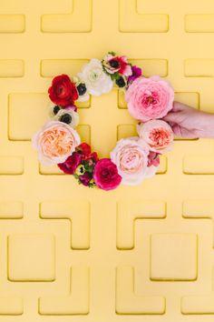 12 Ways to Bring #Spring into Your Home » via #Curbly | #DIY #Design