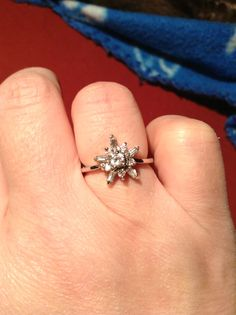 how to make a diamond ring out of foil