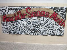 Bulletin Boards to Remember: Music in Our Schools Month Mural