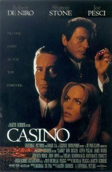 "Casino ~ ""Greed, deception, money, power, and murder occur between two mobster best friends and a trophy wife over a gambling empire."""