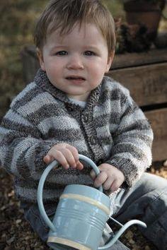 Toddler's Stripey Cardigan Knitting Patterns - Candis