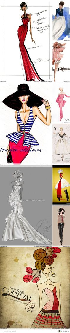 - Fashion Croquis -