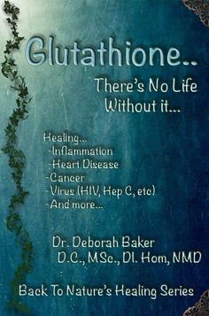 My book ...'Glutathione..There's No Life Without It'  http://budurl.com/GSHBook