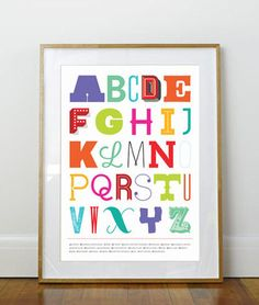 Alphabet of Fonts