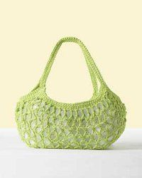 Everyday Market Bag - Free crochet bag pattern to fit all of your essentials.