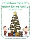This product consists of 3 Christmas tree sorting mats labeled Nouns, Verbs, and Adjectives. There are also 30 word cards:  10 nouns, 10 verbs, and...