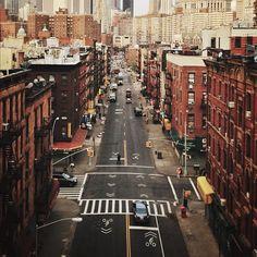 NYC, from the Manhattan Bridge