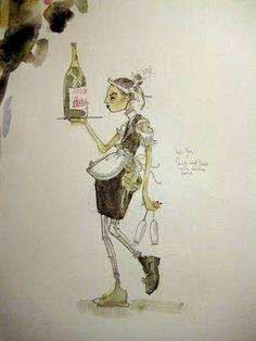 waitress' outfit by Heikki Salonen