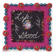 embellished quilt