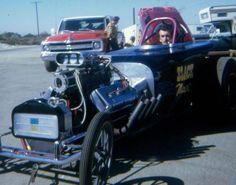 Vintage Drag Racing - Roadster - Black Magic
