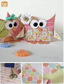 Owl Treat container
