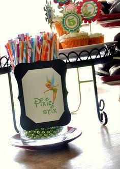 "Tinker Bell Party - Pixie ""Dust"" Stix"