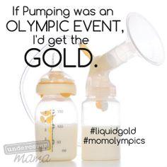 Undercover Mama #momolympics #liquidgold #pumping