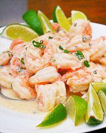 Tequila line shrimp