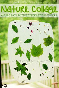 Nature Collage Craft