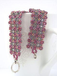 Great beadwork bracelet! Lovely by @LB Toyos #brigteam #beadwork #bracelet $25.90
