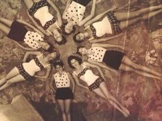 ABT UNK: Friday's Faces From the Past: A Fearless Female, Mom's Cousin, Synchronized Swimmer Laura Lee Payne #genealogy #familyhistory synchron swimmer, cousin