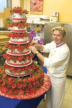 Мастер класс роз для тортов