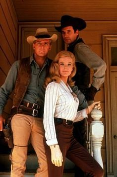 The Big Valley (1965) Photos with Lee Majors, Linda Evans, Peter Breck