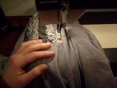 Embellishing a T-shirt Tutorial from adventuresindressmaking.com