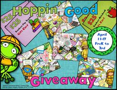 First and Second Grade Resources Pack Giveaway