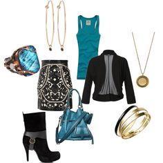 Girls Nite Out, created by sgearhart on Polyvore