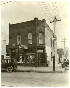 Home of our Sweet Shop. #Lola's Sugar Rush at 2490 West Main Street in Littleton, CO. Even then #candy and #ice cream were sold here. Love this place!