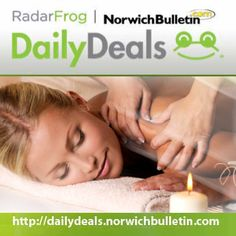 Stressed out from work? Kids pulling you every which way? Today's featured deal is your you!  Enjoy a 90 minute massage with aromatherapy for only $52 at Misty Dawn Massage Therapy, located in Summit Fitness and Sports! Relax, they've got your back.  Get the voucher here: http://dailydeals.norwichbulletin.com/  Deal ends 2/21